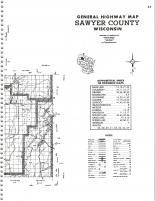 Map Image 040, Sawyer County 1979